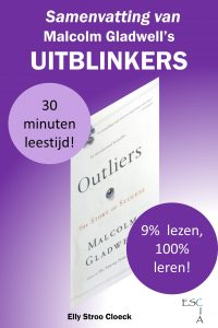 Samenvatting Uitblinkers Gladwell