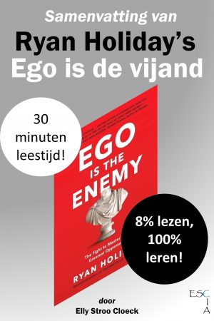 Samenvatting van Ryan Holiday's Ego is de vijand